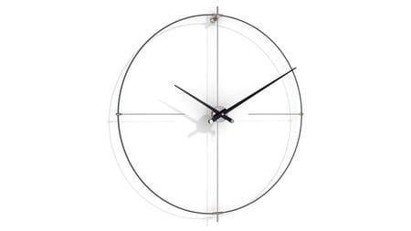 Часы Nomon BILBAO L(black/black), d=110см