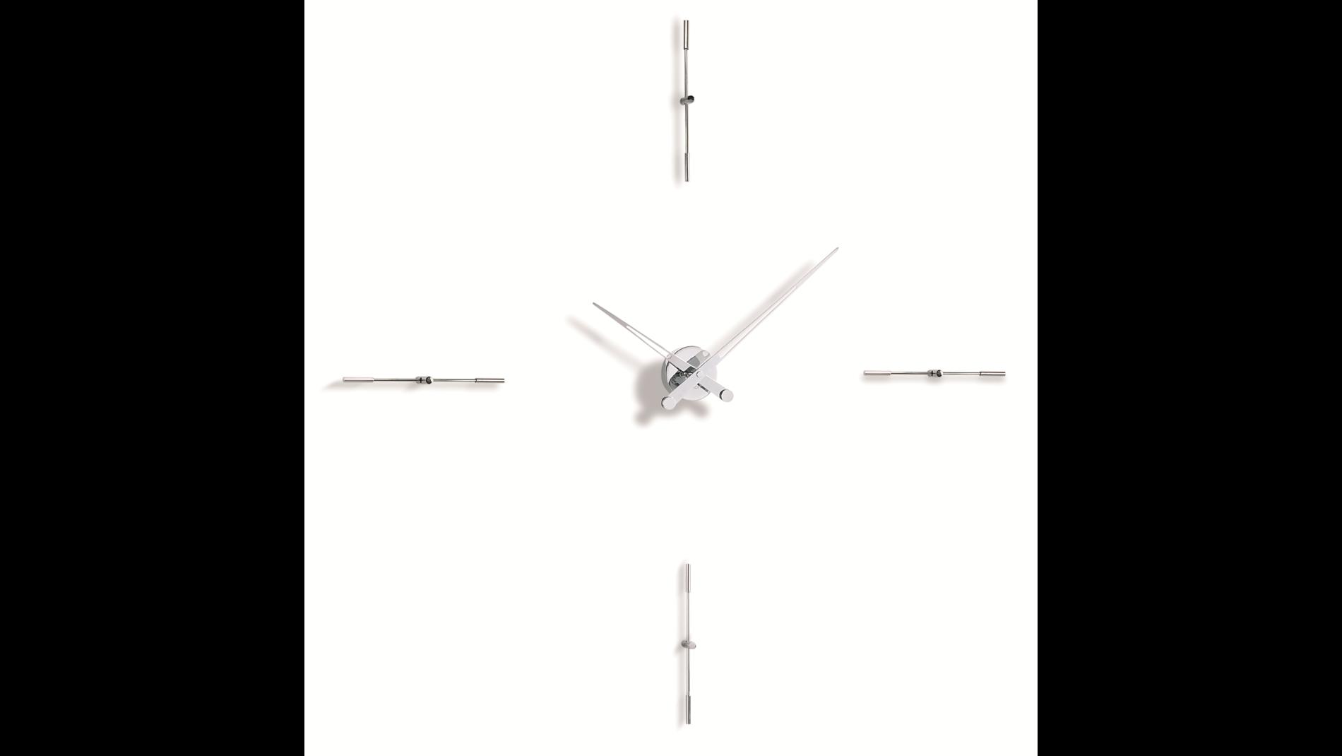 Merlin 4 i, Nomon(Испания), часы настенные, d=110cm, мех-м UTS