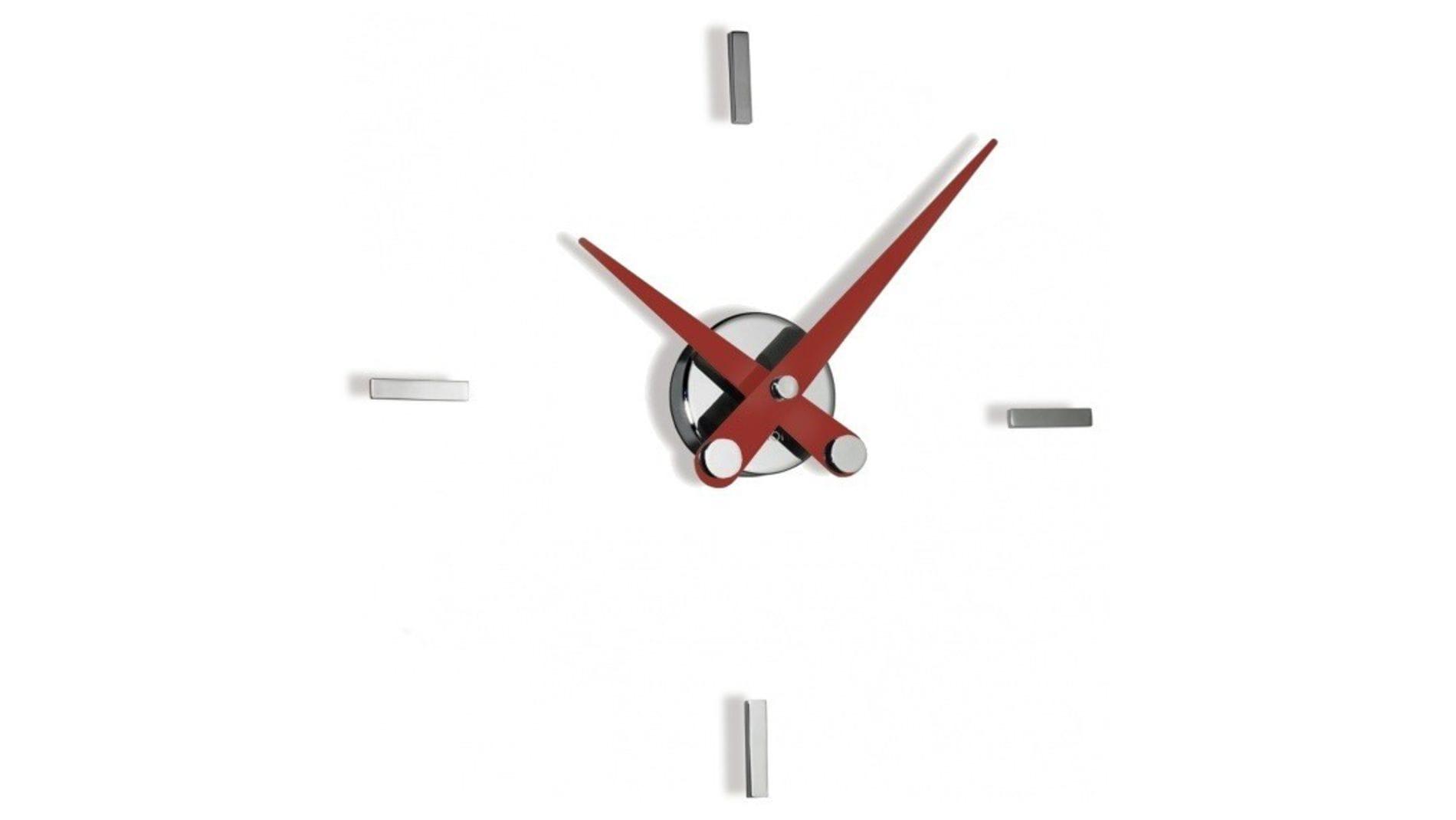 Часы Nomon PUNTOS SUSPENSIVOS 4i RED(красные стрелки), d=41 / 50 cm.