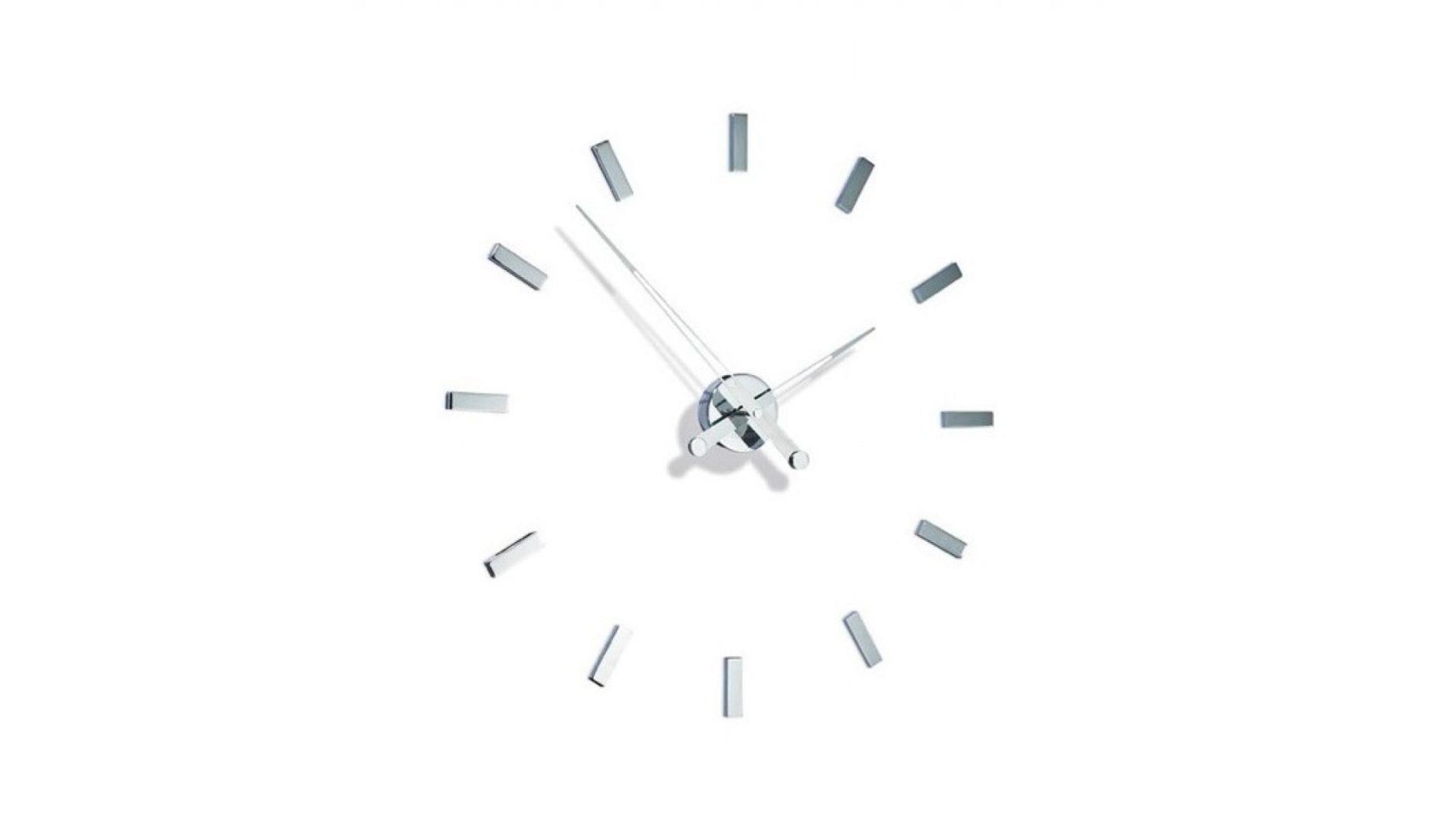 Часы Nomon Tacon 12i хром.сталь, d=74см