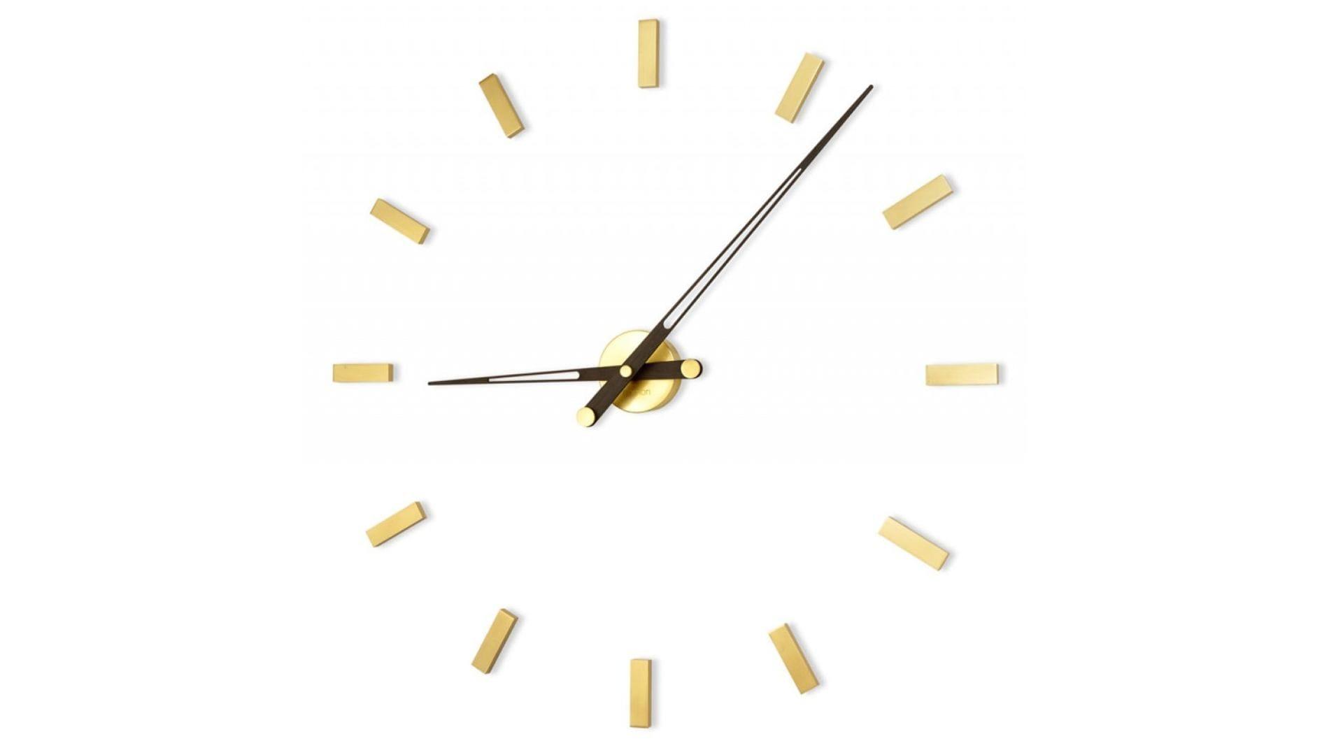 Часы Nomon Tacon 12 Gold N, wenge, d=105см