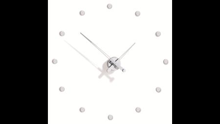 Часы Nomon Rodon 12 i, chrome, d=70 см