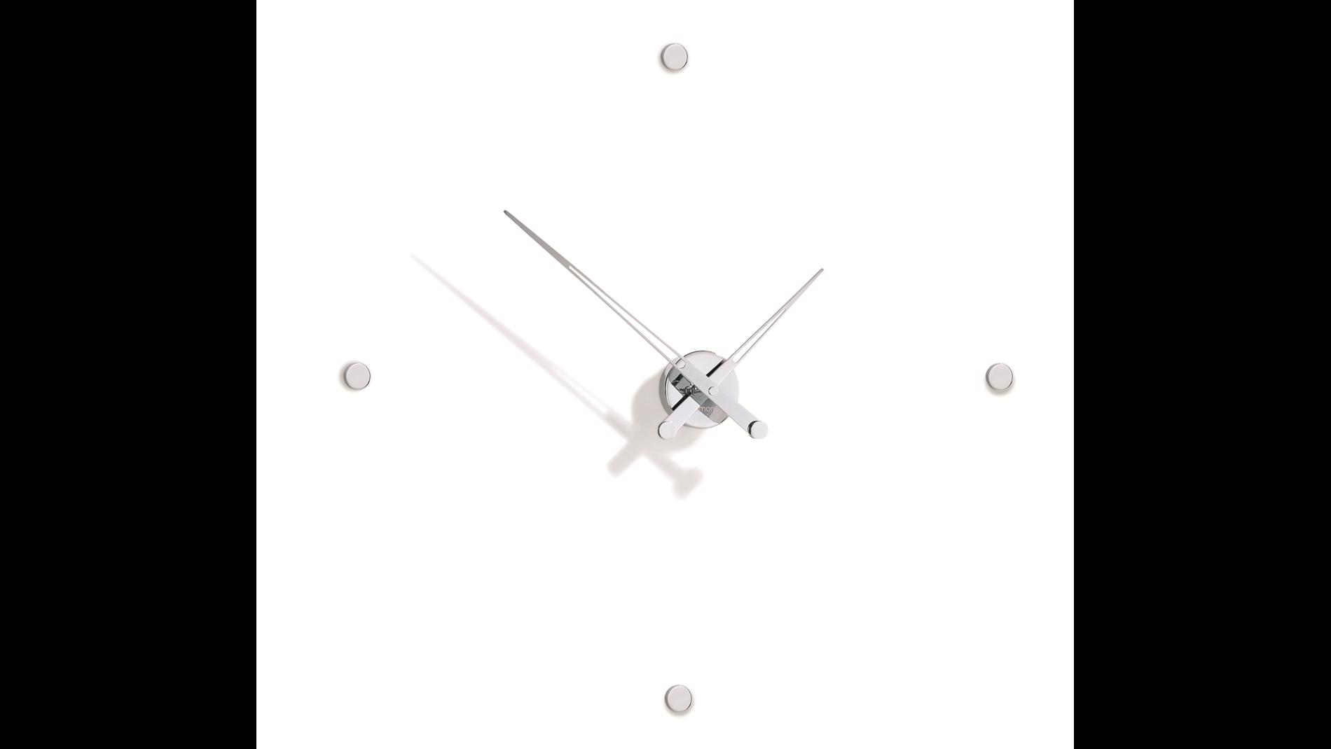 Часы Nomon Rodon 4 i, chrome, d=70 см