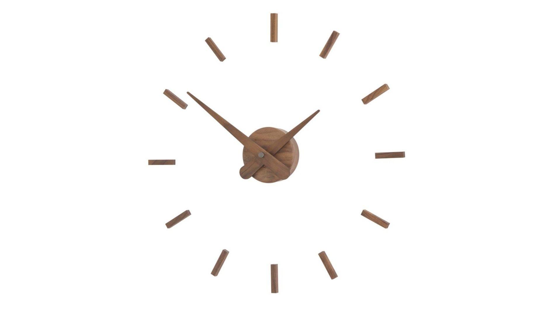 Часы Nomon SUNSET N walnut (50 см.)