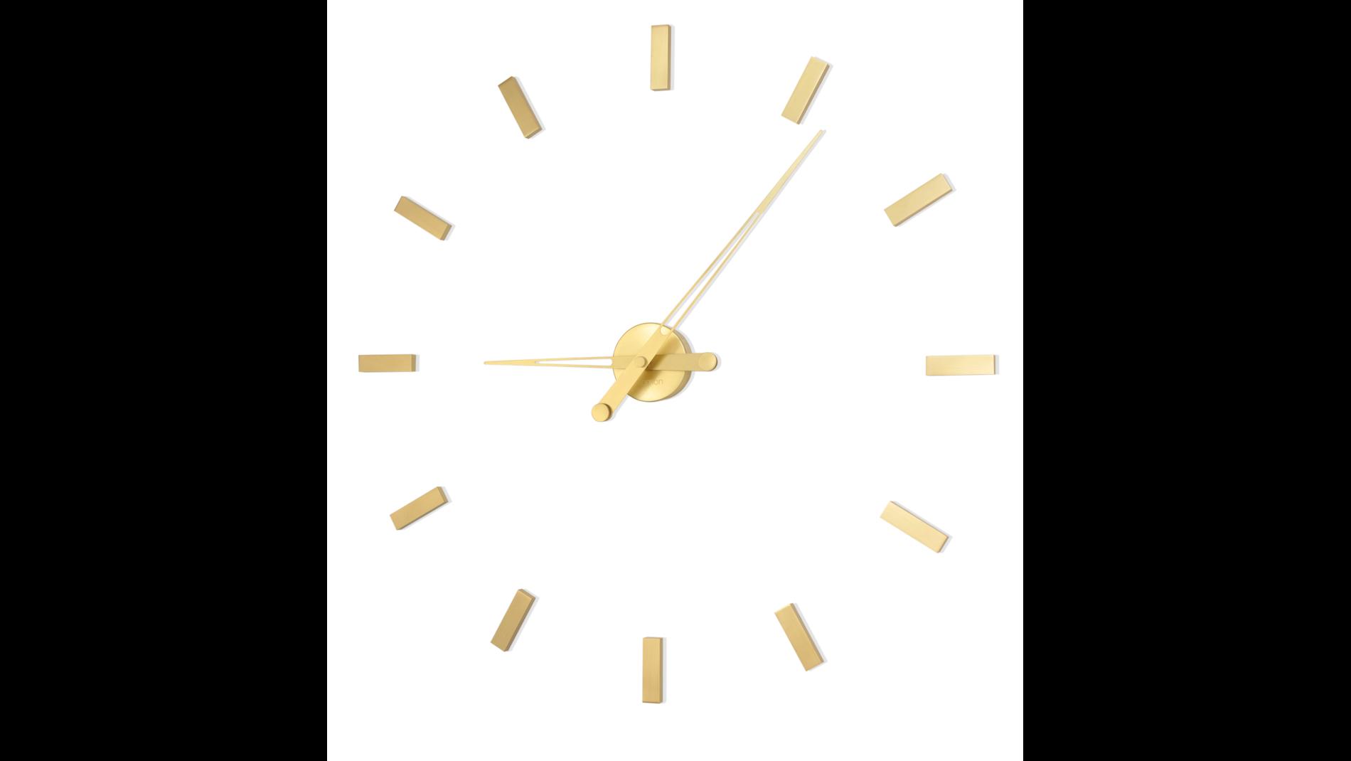 Часы Nomon Tacon 12 Gold, полированная латунь, d=74cm