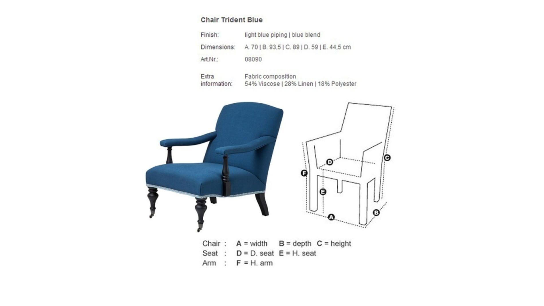 Кресло Trident