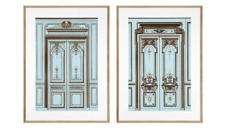 Постер French Salon Doors 2 шт.