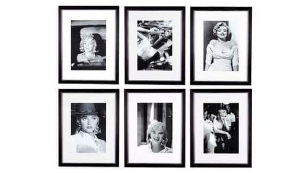 Набор постеров Marlyn Monroe 6 шт.