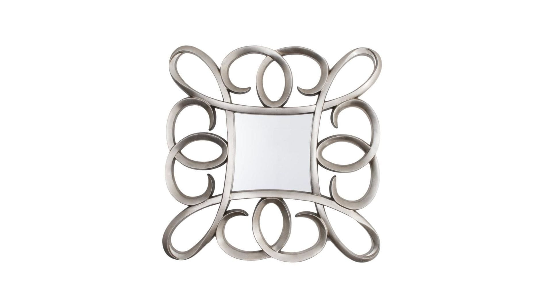 Зеркало Silver Swirl Frame