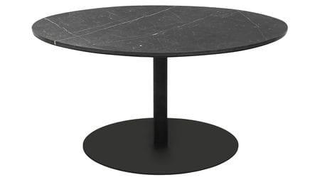 Стол кофейный Jake D70 черный