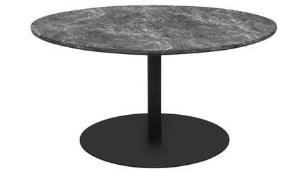 Стол кофейный Jake D70 серый