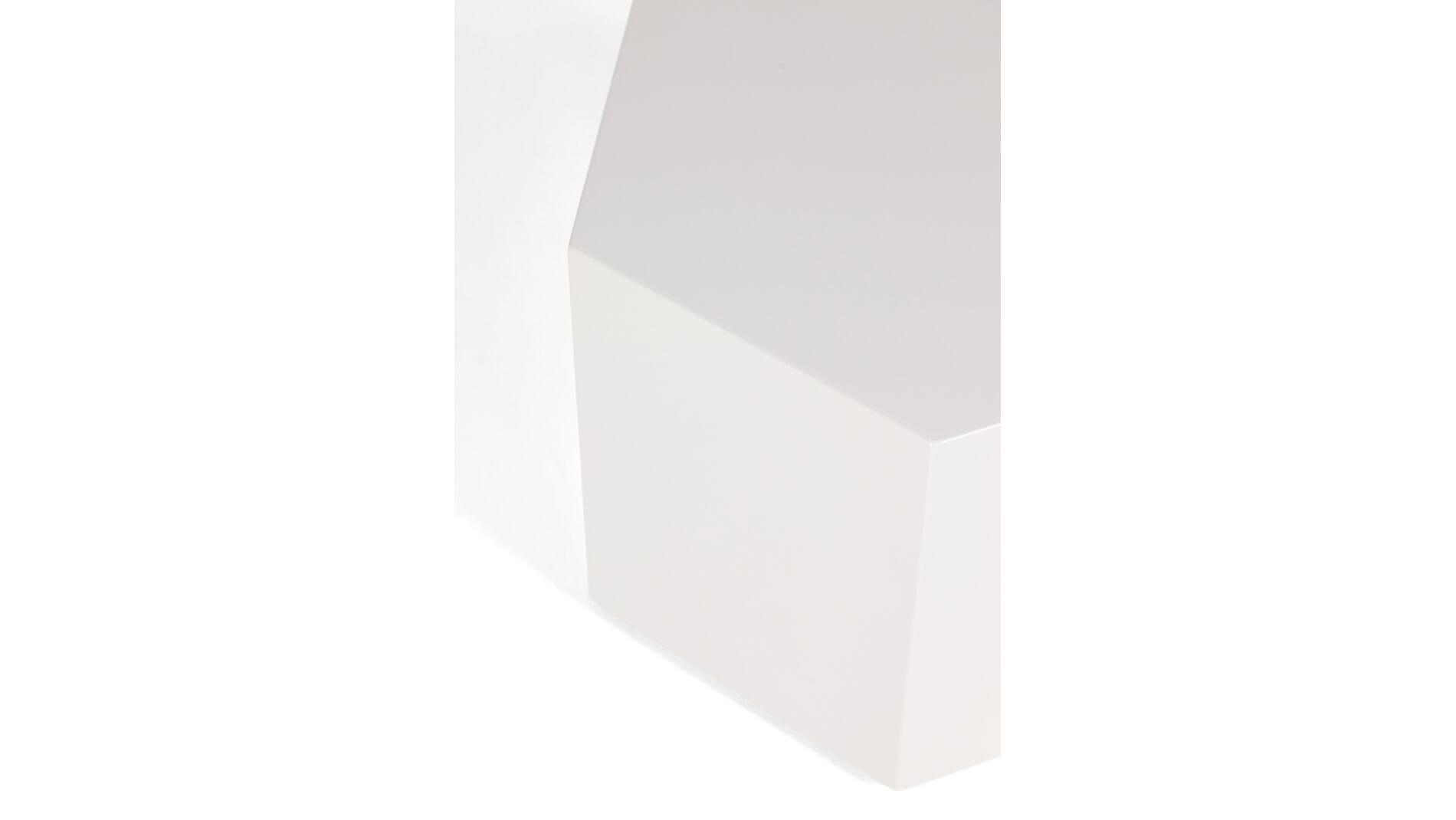 Приставной стол Marley шестиугольный серый