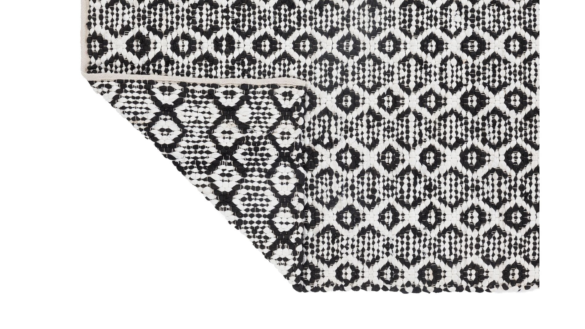 Ковер Benoni Black-White, 190x290