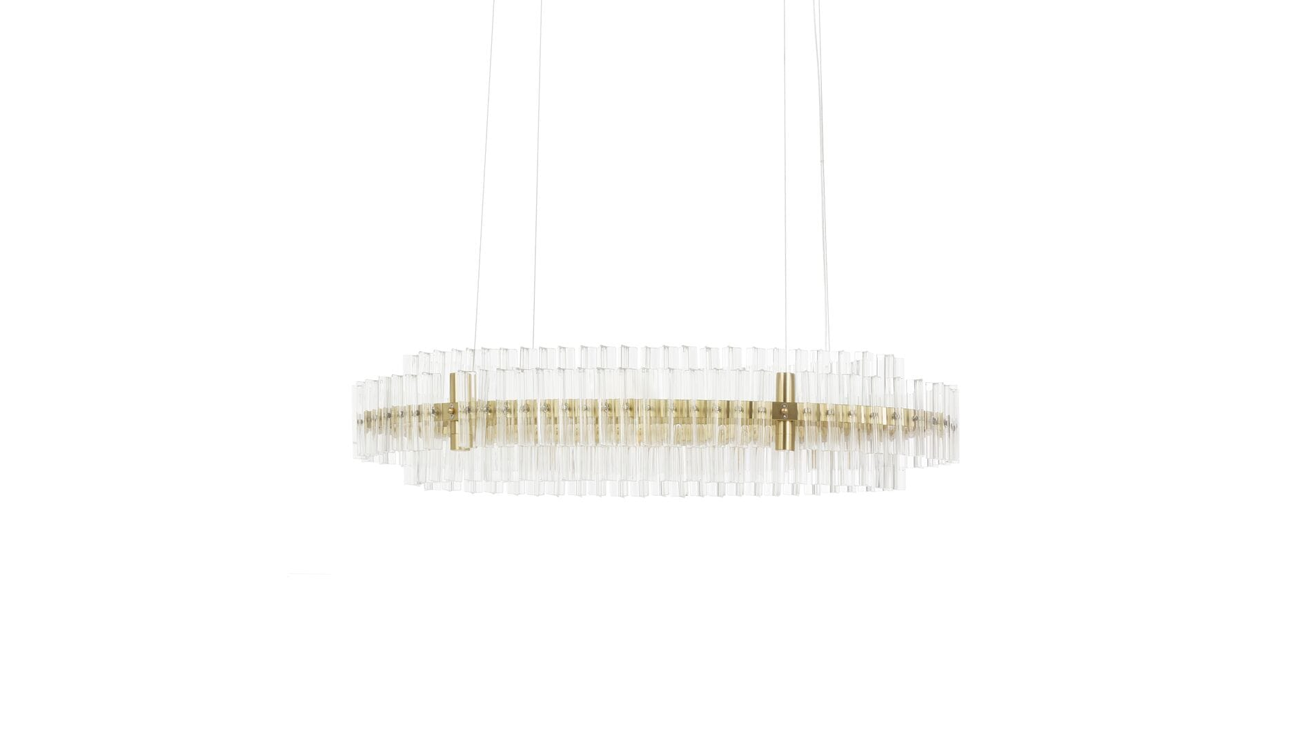 Подвесной светильник Crystal Circle 90 см