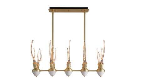Подвесной светильник Foco WD длина 90