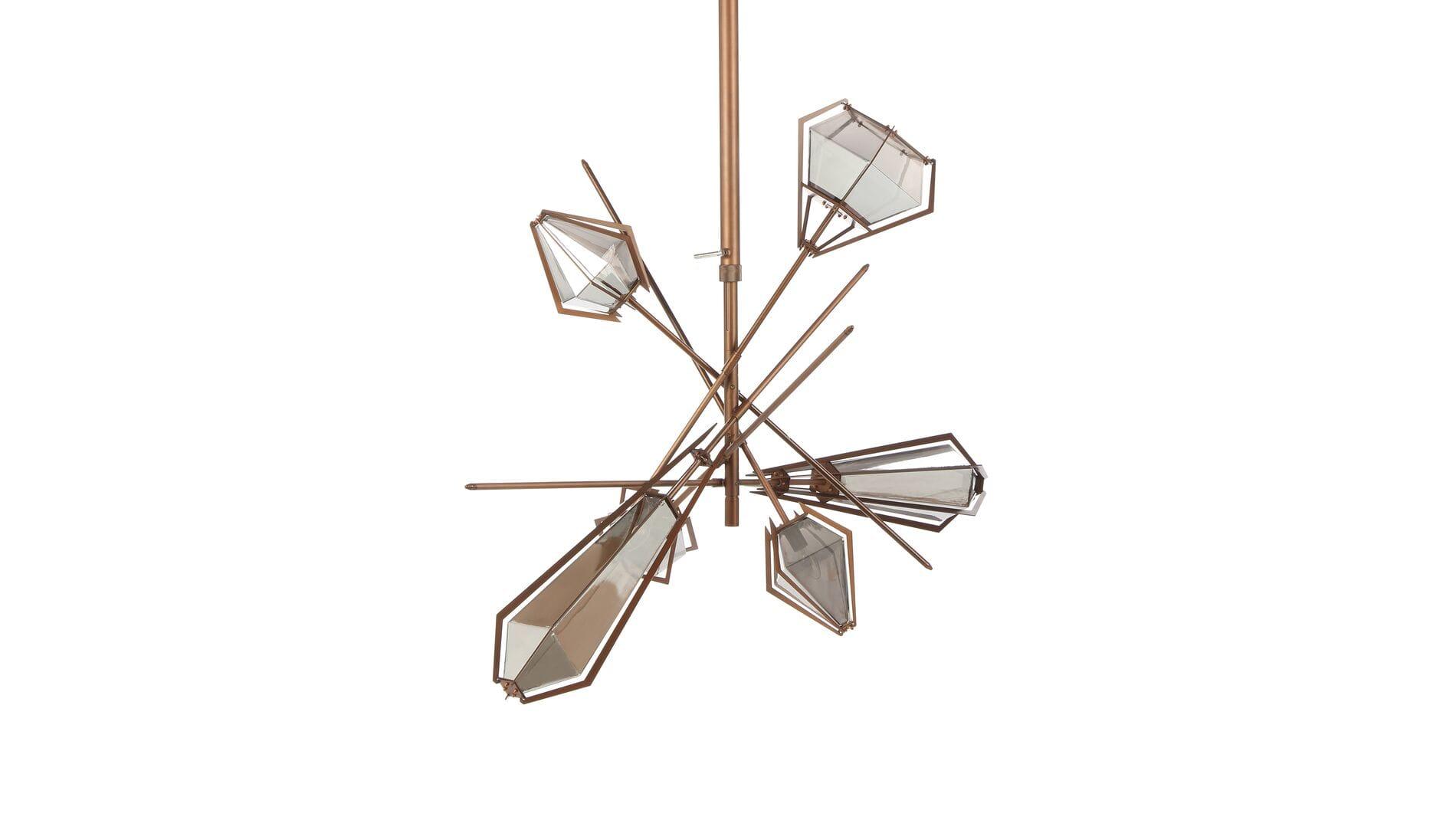 Подвесной светильник Lattice, 6 ламп