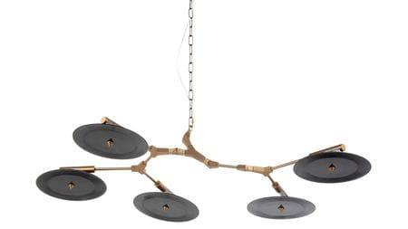 Подвесной светильник Branching Discs, 5 ламп