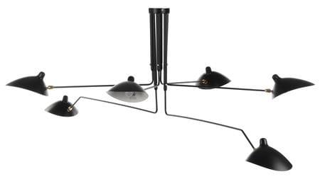 Потолочный светильник Spider Mouille E 6 ламп