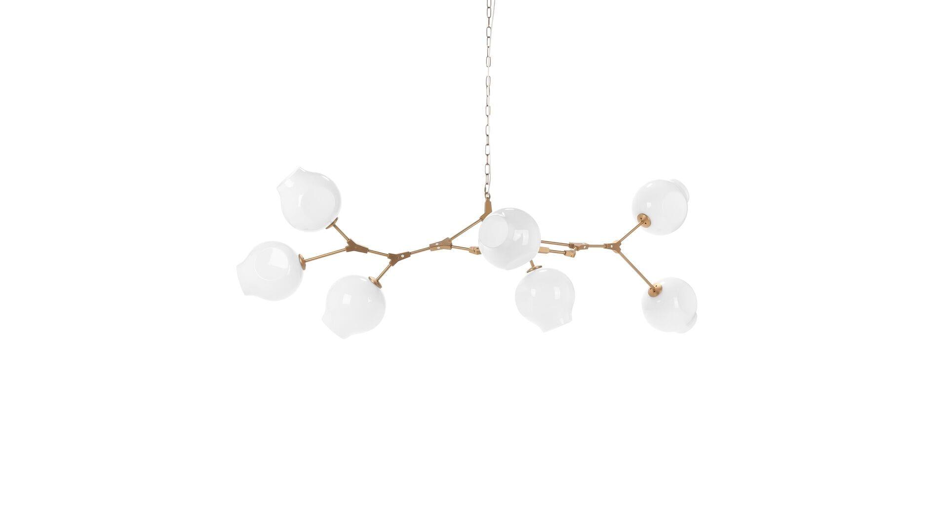 Подвесной светильник Branching Bubbles Summer, 7 ламп