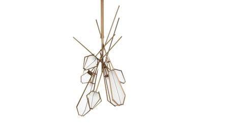 Подвесной светильник Lattice, 7 ламп