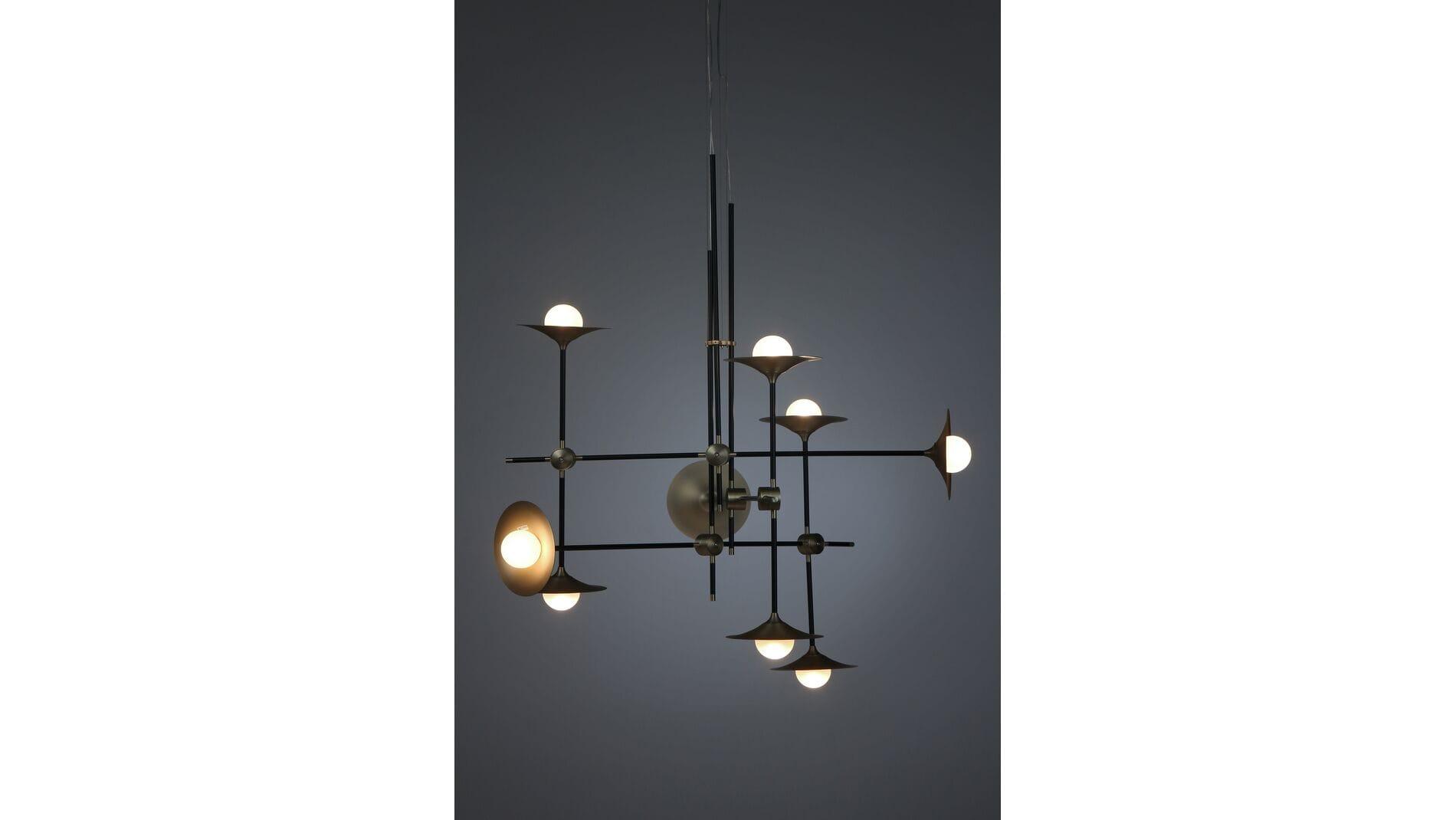 Потолочный светильник Jenkins, 9 ламп