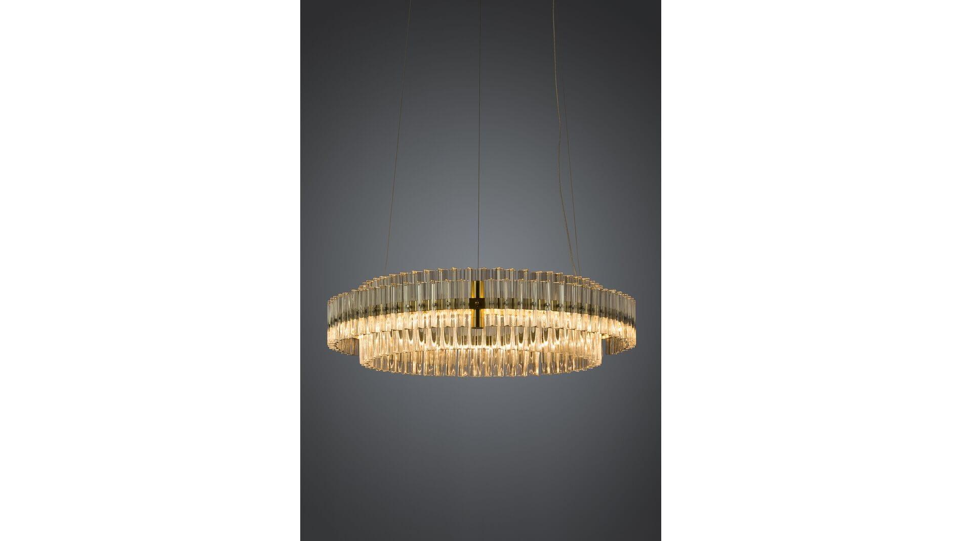 Подвесной светильник Crystal Circle диаметр 70