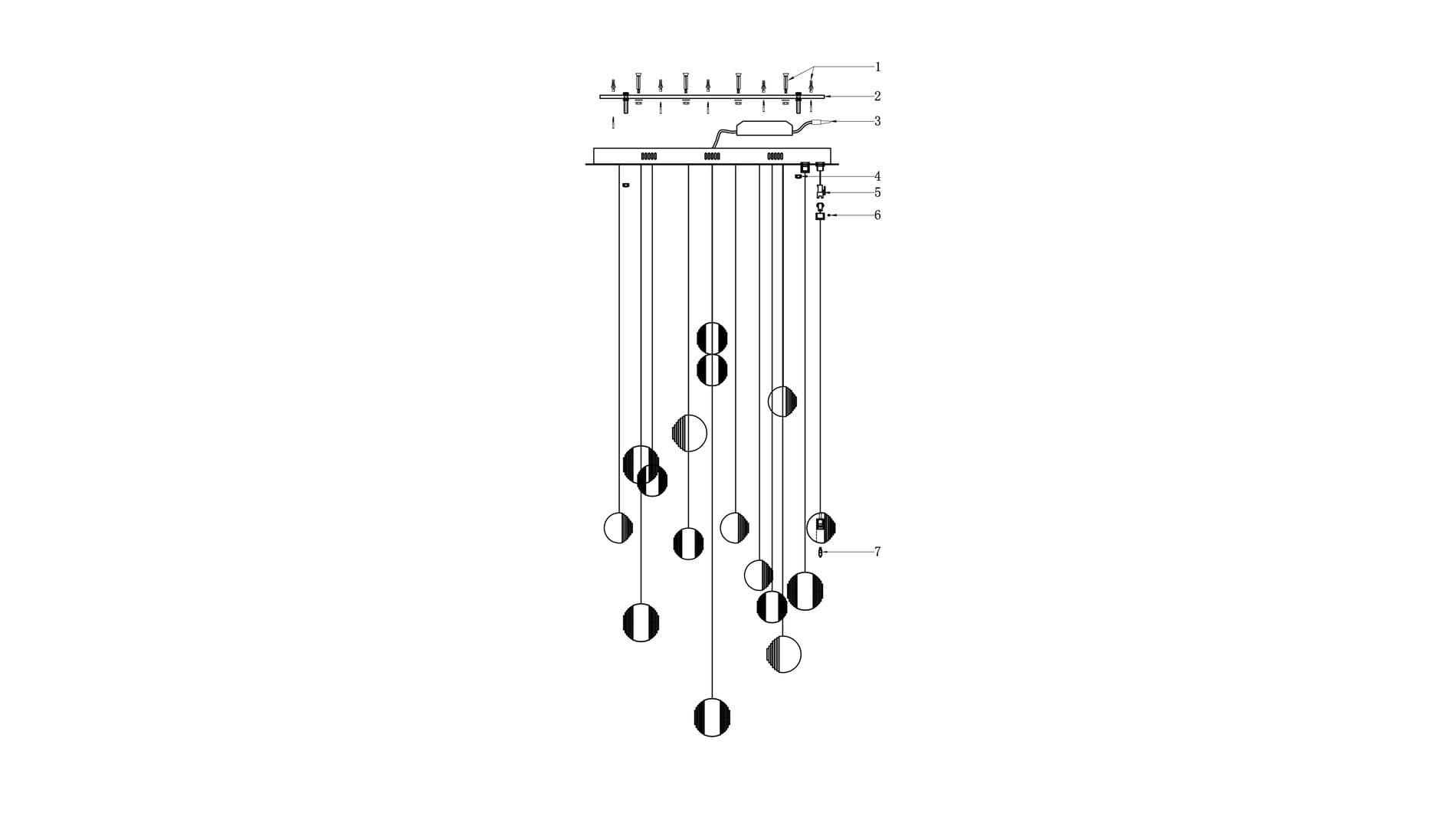 Подвесной светильник Di Vare