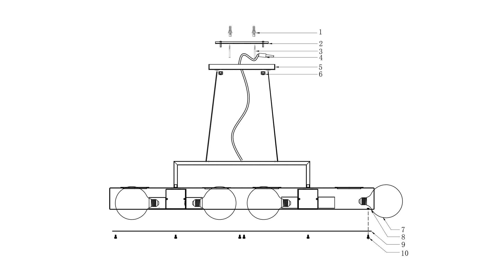 Подвесной светильник Modest 2.0