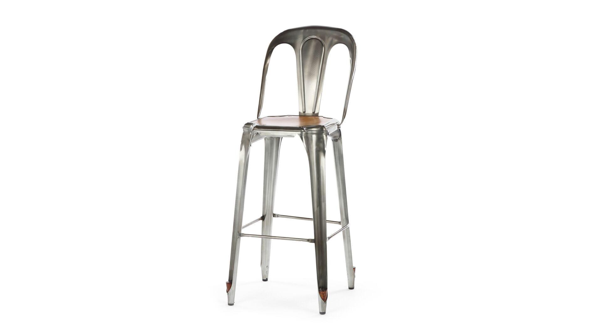 Барный стул Marais со спинкой