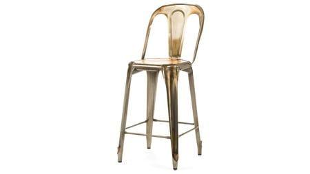 Барный стул Marais с деревянным сиденьем