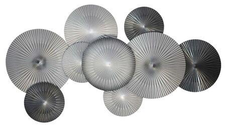 Панно на стену Black silver - 9 160х90см