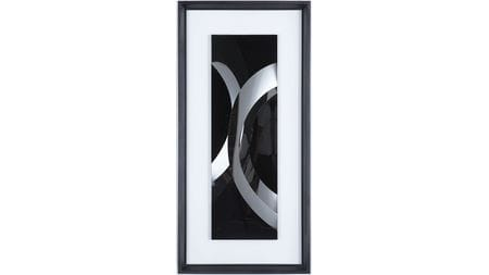 Панно-картина на стену black rainbow