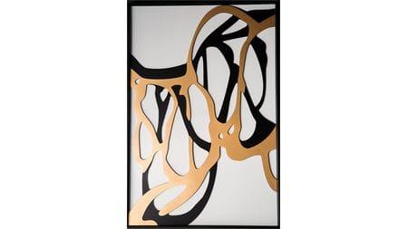 Панно-картина на стену Woodcut 92*62 см.