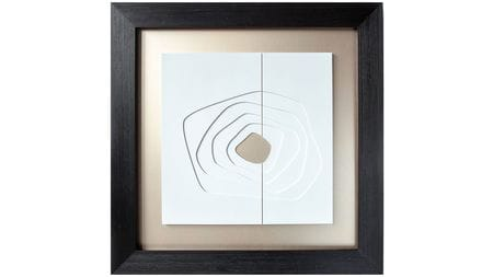 Панно-картина на стену Black kvadro 95*95 cм.