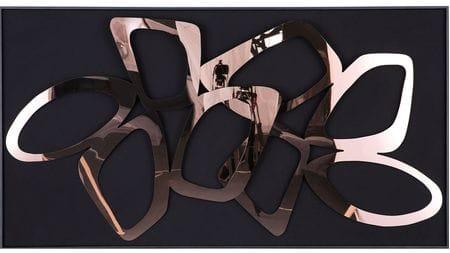 Панно-картина на стену Ristel Black 153х83 см