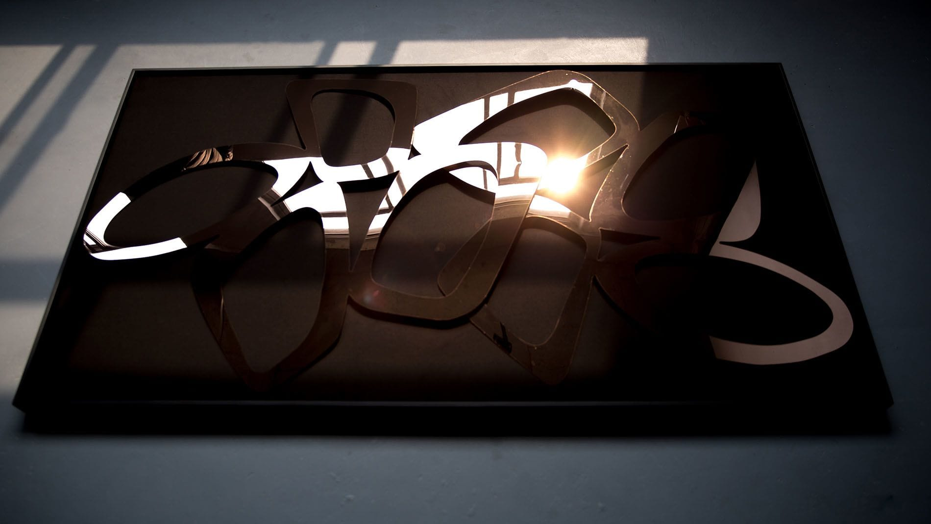 Панно-картина на стену Ristel Black