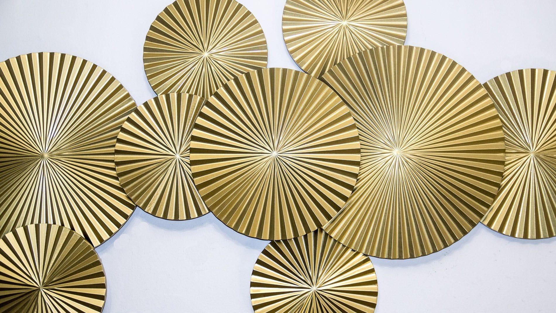 Панно на стену Gold - 9 160*90 см.