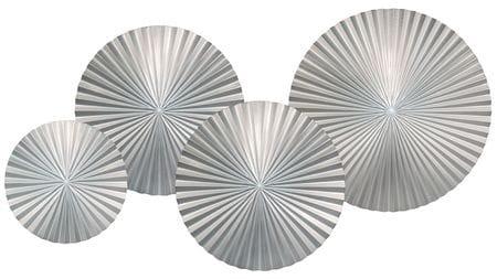 Панно на стену silver-4 120*70 см.