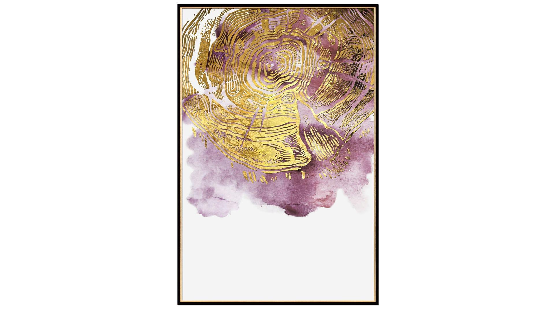 Постер для интерьера Волна абстракции - 1 80х60 см