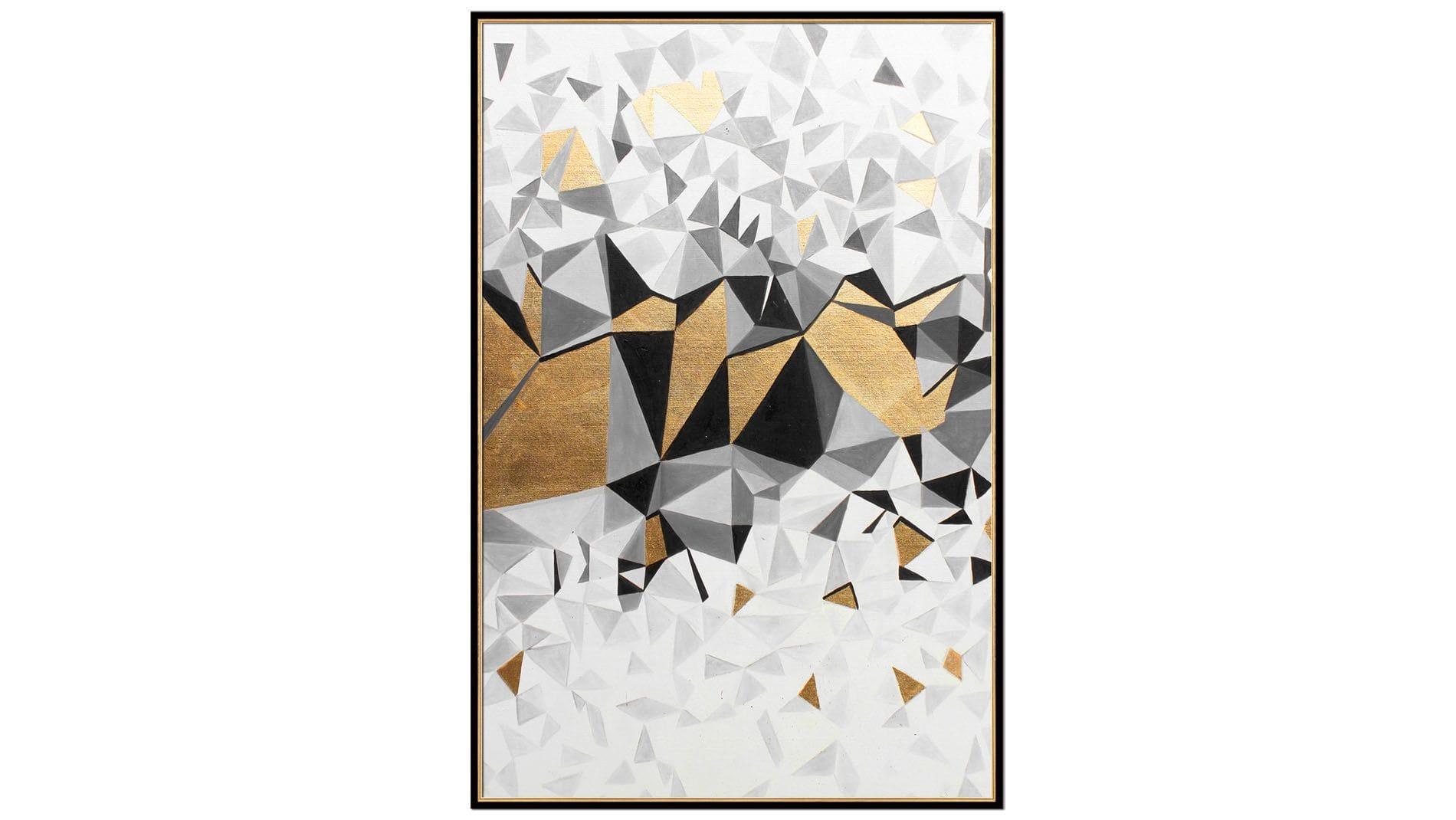 Постер на стену Кубическая абстракция-2 60х80 см