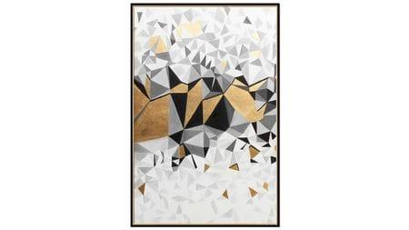 Постер на стену Кубическая абстракция-2 60*80 см.
