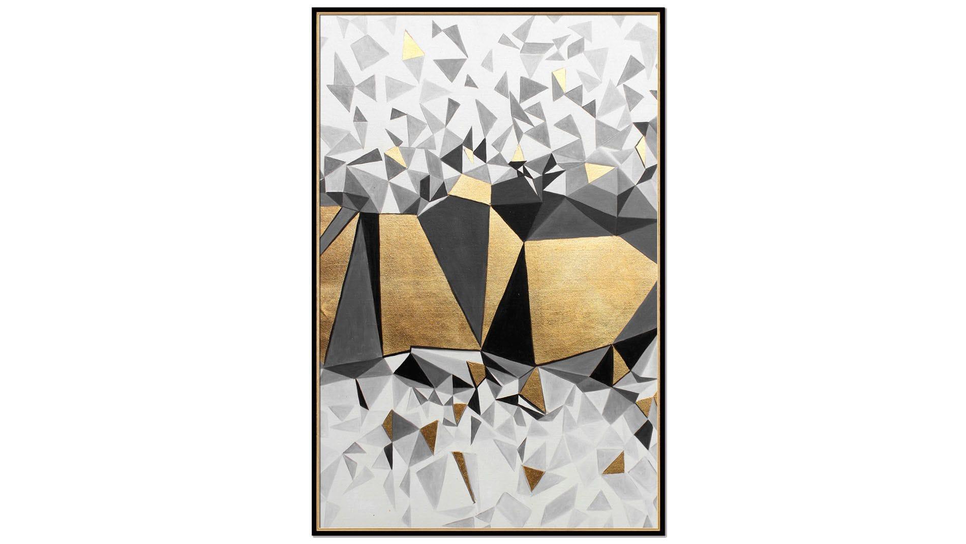 Постер на стену Кубическая абстракция-1 60х80 см