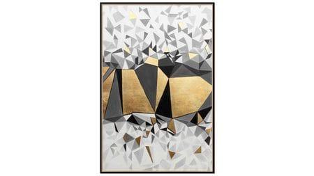 Постер на стену Кубическая абстракция-1 60*80 см.