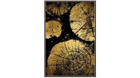 Постер на стену спилы деревьев 60х80см