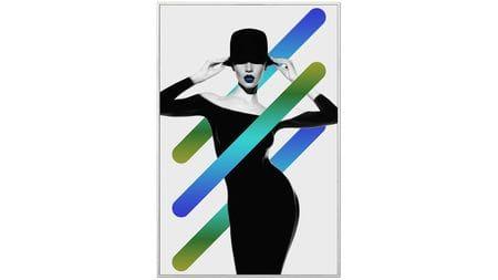 Постер на стену Модница-2 60х80см