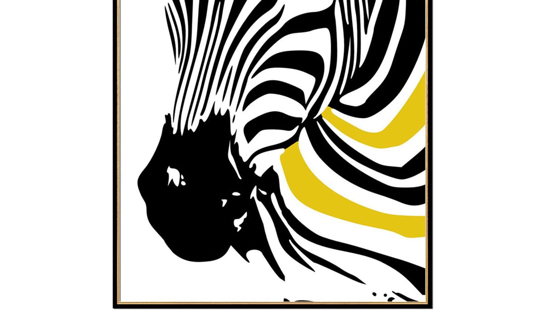 Постер на стену Зебра-1 60х80см