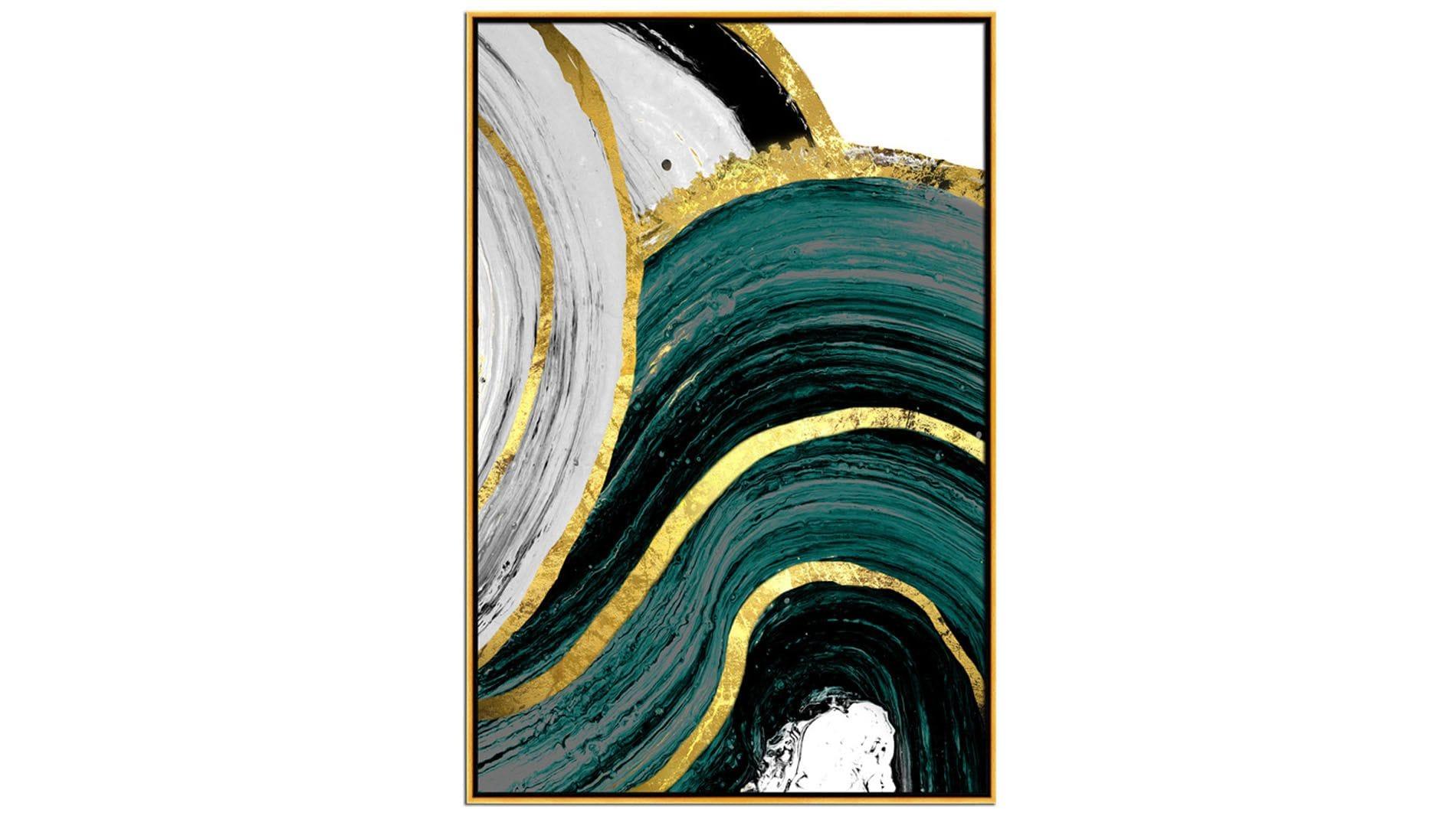 Постер на стену художественная абстракция-2 60х80СМ