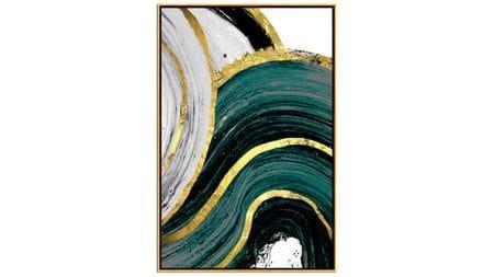 Постер на стену художественная абстракция-2 60*80СМ.