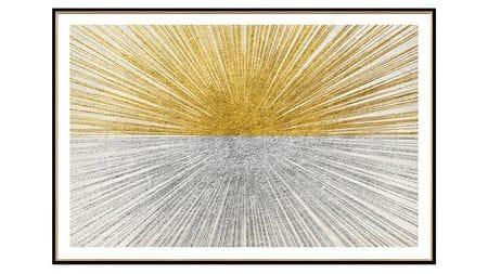 Постер на стену взрыв пространства-1 80х60см