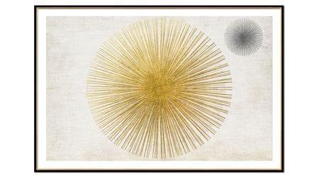 Постер на стену взрыв пространства-2 80х60см